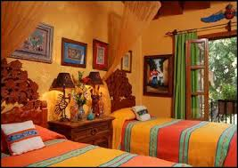Mexican Style Bedding Mexican Bedroom Decorating Ideas Color