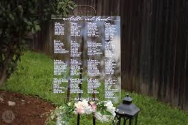 Acrylic Wedding Seating Chart Custom Acrylic Seating Chart Sign Clear Wedding Bridal Shower Seating Arrangement