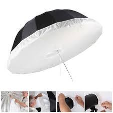 Light Diffuser Umbrella 2019 Ight Diffuser Meking Soft Light Diffuser For Parabolic Umbrella To Studio Portrait Softbox Creating Catchlights 41 51 65 105 130cm From