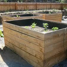 diy cedar raised garden beds