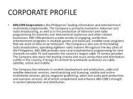 Abs Cbn Corporation Organizational Chart Abs Cbn Corporation