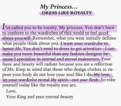 Christian Princess Quotes Best Of My PrincessDress Like Royalty My Princess Quotes