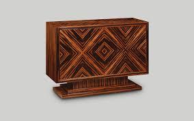 Art deco furniture Black And Gold W370 Door Credenza Ebony W114cm45in D43cm17in H81cm32in Stevenwardhaircom Art Deco Style Reproduction Furniture Iain James