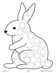12 Spring Do A Dot Printables Preschool Worksheets Imprimibles