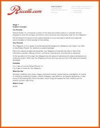 Elegant Advertising Proposal Letter Npfg Online