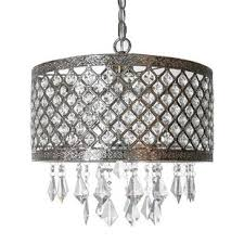 Contemporary crystal pendant lighting Crystal Light Ved Lattice 1light Crystal Pendant Wayfair Crystal Pendants Youll Love Wayfair