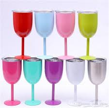 goblet style wine glasses. Plain Wine High Quality 10oz Wine Glasses Rtic Style Glass Cup Goblet Bilayer  True North Vs Swig Cups Collage Coffee Mugs Colored  And A