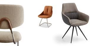 Esstisch Stühle Schwarz Leder