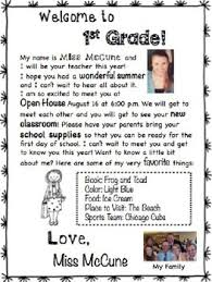 Editable Back To School Welcome Letter To Students From Teacher Tpt