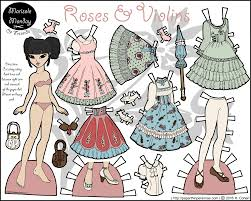 All the different clothes and styles give your kids a fun way to spend their time. Roses Violins A Lolita Fashion Paper Doll