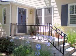 awesome steel railing designs for front porch collection with balcony stairs wrought iron railings paint images