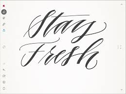 getting started with faux calligraphy on your ipad smart