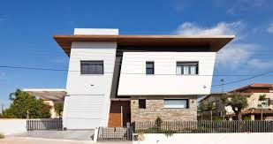 Delighful Modern Architecture Fighting Neighboring Noise House In Archaggelos Inside Impressive Ideas