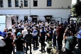 Şehit Emniyet Müdür Yardımcısı Hasan Cevher için polis lojmanı önünde  helallik alındı - ASAYİŞ - Avcılar Haber Merkezi