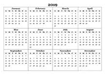 Microsoft Free Calendar Template 2019 Calendar Templates Download 2019 Monthly Yearly