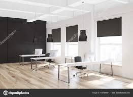 white office corner desk. Wooden Floor Open Space Office Corner, Desk Rows \u2014 Stock Photo White Corner K
