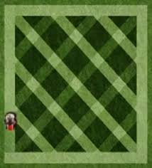 Mowing Patterns Adorable How to mow a diamond pattern Yardzrus Lawn Care Pinterest