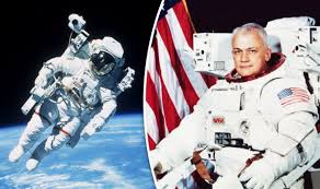 「1984 Bruce McCandless II and his brother」の画像検索結果