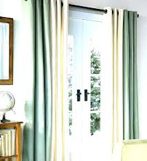 glass door curtain ideas sliding doors covering window treatment for wondrous kitchen treatments ide