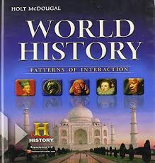 World History Patterns Of Interaction Pdf Gorgeous ISBN 48 Holt McDougal World History Patterns Of