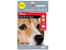<b>Фотобумага Lomond</b> Simply Papers <b>A4 180g m2</b> Глянцевая 50 ...