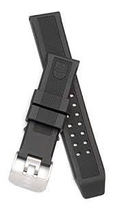 Luminox 3050, 3080, 3150 Strap <b>Replacement Watch Band</b> Black ...