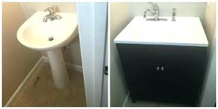 How to install a vanity Faucet Replacing Bathroom Vanity Replacing Sink Replace Bathroom Vanity With Pedestal Sink How To Remove Pertaining Replacing Bathroom Vanity How To Replace Upstatefilmsinfo Replacing Bathroom Vanity Removing Bathroom Vanity Drawers Replacing