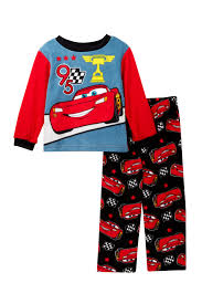 Lighting Mcqueen Pajamas Ame Cars Lightning Mcqueen 95 Fleece Pajama Set Toddler Boys Nordstrom Rack