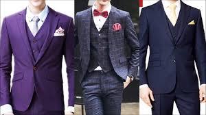 New Suit Design 2019 Man New Style 3 Piece Suits For Men New Design Pant Coat For