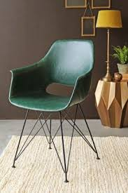 industrial style furniture. Brilliant Style Prentice Faux Leather Dining Chair  Forest Green And Industrial Style Furniture H