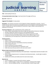 Then click the card to flip it. Judicial System Lesson Plans Worksheets Lesson Planet