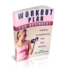 8 Week Beginners Workout Plan