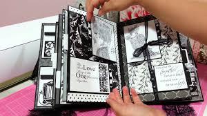 Handmade Mini Book Album For Wedding Anniversary Youtube
