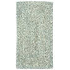 braided rectangle rug rugs sea glass spa concentric outdoor free today 5x7