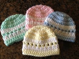 Crochet Preemie Hat Pattern Magnificent Quick ColorBand Preemie Beanie Sheepishly Sharing