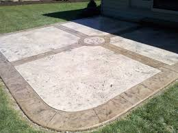Decorative Concrete Overlay Stamped Concrete Overlay Redeckonwo