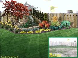 How To Landscape My Backyard  Large And Beautiful Photos Photo Landscape My Backyard