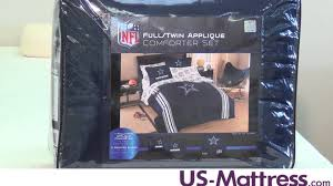 Dallas Cowboys Twin/Full Comforter Set by Northwest Company - YouTube