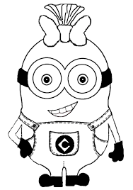 Small Picture Minion Drawings Black and White Birthday Parties Pinterest