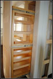 Kitchen Closet Shelving How To Build Pull Out Shelves For Kitchen Cabinets Diy Pullout
