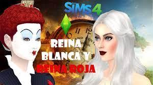 Reina Blanca y Reina Roja I Create a Sim I Sims 4 I DanySimmer. - YouTube
