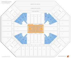 Thompson Boling Arena Tennessee Seating Guide