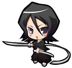 anime characters chibi bleach. Chibi Rukia Soul Ripper With Anime Characters Bleach