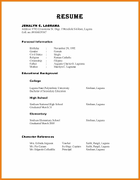 Reference Resume References Format O Cute Resume Reference Format Free Career 6