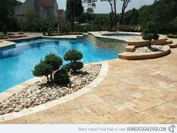 Pool Landscape Design Inground Pool Landscaping Ideas Porch And Landscape Ideas