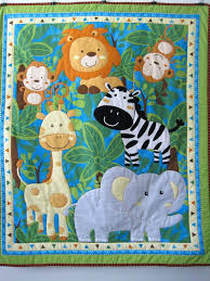 Animal Quilt Patterns Mesmerizing Animal Baby Quilts Connectme