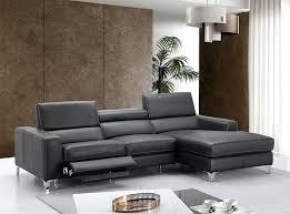 reclining sectional sofas sofa by furniture recliner with cup holders in chocolate microfiber leather co