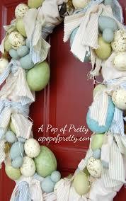 diy easter diy make a shabby chic easter wreath