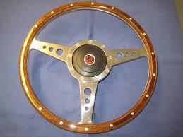 mgb 15 inch wooden steering wheel bos gt roadster