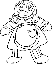 Small Picture Girl Baby Doll Colouring Pages Coloring Home